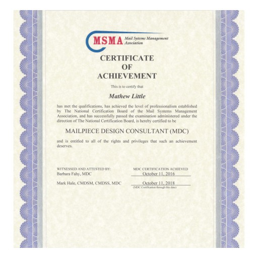 AccuZIP Customer Care Specialist Attempts Joint Certification